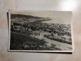 United Kingdom Wales Nells Point Barry Island Beach Shore Crowd RPPC Real Photo 12812 Post Card POSTCARD - Glamorgan