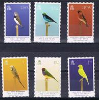 A 544 ++ ISLE OF MAN 2021 VOGELS BIRDS OISEAUX VÖGEL POSTFRIS MNH ** - FDC