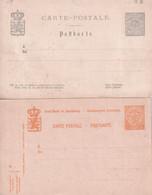 LUXEMBOURG - 1880/1919 - ENTIER POSTAL - 2 CARTES NEUVES - Enteros Postales