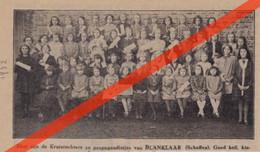 SCHAFFEN - BLANKLAAR - GROEPSFOTO -  GEDRUKTE AFBEELDINGEN (TIJDSCHRIFT 1932) - Unclassified