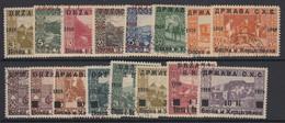 Yugoslavia, Scott 1L1-1L16, Used - Used Stamps