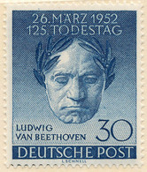 Stamps Germany 1952 MNH - Unused Stamps