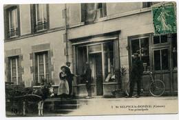 ST-SULPICE-le-DONZEIL (Creuse). Vue Principale. - Other Municipalities