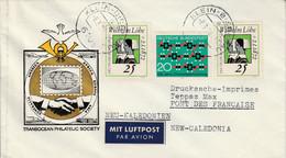 ALLEMAGNE RFA AFFRANCHISSEMENT COMPOSE SUR LETTRE POUR LA NOUVELLE CALEDONIE 1972 - Storia Postale