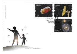 Portugal, 2009, FDC Europa - Ano Internacional Da Astronomia, Carimbo De Lisboa - FDC