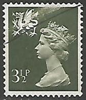 GRANDE BRETAGNE N° 713 OBLITERE - Wales