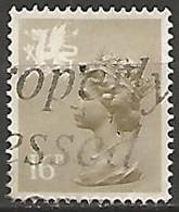 GRANDE BRETAGNE N° 1084a OBLITERE - Wales