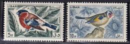 LIBAN - Faune, Oiseaux - Y&T N° 250-255 - MNH - 1965 - Libanon