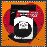 France 2021 Neuf **  N° 5464   Coeur N° 5 CHANEL  à  1,08 € - Unused Stamps