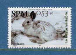 ⭐ Saint Pierre Et Miquelon - YT N° 855 ** - Neuf Sans Charnière - 2005 ⭐ - Unused Stamps
