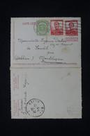 BELGIQUE - Entier Postal + Compléments De Bruxelles Pour La France En 1912 - L 91515 - Letter-Cards