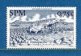 ⭐ Saint Pierre Et Miquelon - YT N° 857 ** - Neuf Sans Charnière - 2005 ⭐ - Unused Stamps