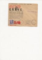 LETTRE    GREVE    SAMUR  1953 - Strike Stamps