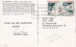 NOUVELLE-CALEDONIE 1964 CARTE DE NOUMEA - Cartas