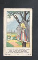 HEVERLEE/BOLLEBEEK- DEVOTIEPRENTJE - HEILIGE PRIESTERWIJDING EN HEILIGE EEREMIS  JOZEF LAVERS  - 1935 (2 Scans) (DV 013) - Devotion Images