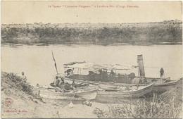 CPA CONGO FRNCAIS LOUDIMA LE VAPEUR BATEAU LE CAPITAINE PLEIGNEUR - French Congo - Other