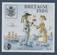 CNEP-1986-N°7** BRETAGNE.Salon Philathélique De RENNES - CNEP