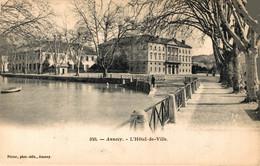 N°79454 -cpa Annecy -l'hôtel De Ville- - Annecy