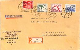 Allemagne Reich 1935 Lettre De Kehl     (G1145) - Covers & Documents