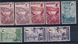 DZ-48 FRANCE: Lot Avec  Colis Postaux** N°216A(2)-217A(2)-218A-219A-220A(2) - Mint/Hinged