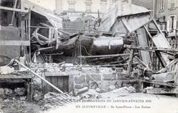 94  ALFORTVILLE  INONDATIONS 1910 LES RUINES  ILE ST PIERRE - Alfortville