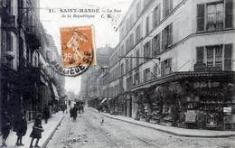 94  SAINT  MANDE RUE DE LA REPUBLIQUE - Saint Mande