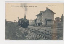 VARENNES-SOUS-DUN - La Gare Et L'arrivée D'un Train - Très Bon état - Altri Comuni