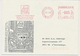 Meter Cover Netherlands 1988 Geert Grote - Dutch Catholic Deacon -Brethren Of The Common Life - Non Classificati