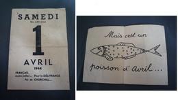 Propagande Anti-alliés / 1er Avril / 1944 - 1939-45