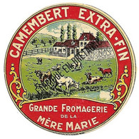 ETIQU Grande FROM. De LA MERE MARIE Bretagne - Cheese