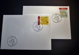 Belgie - Belgique - 2005 - OPB 3399/00 - Vacance -  2 Enveloppes Afgestempeld   07.05.2005 Lier - Gebraucht