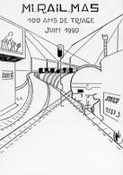 Miramas / SNCF / Edité Par L'Amicale Philathélique Des Cheminots De La Crau - Stazioni Con Treni