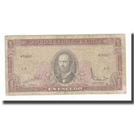 Billet, Chile, 1 Escudo, KM:135Ab, B+ - Chile