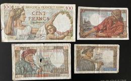 7 X BANQUE DE FRANCE - Zonder Classificatie