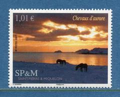 ⭐ Saint Pierre Et Miquelon - YT N° 883 ** - Neuf Sans Charnière - 2007 ⭐ - Unused Stamps