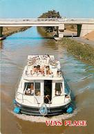34* VIAS PLAGE  Canal  (CPM 10x15cm)                      MA63-1106 - Unclassified