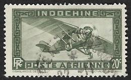 INDOCHINE    1933-38   -   PA   6  - Oblitéré - Posta Aerea