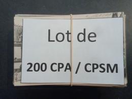 1lo - A486 NIEVRE Lot De 200 CPA / CPSM Format CPA NIEVRE Nevers Les Settons Etc... - 100 - 499 Cartoline