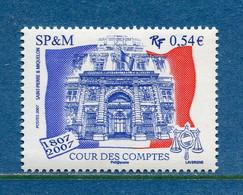 ⭐ Saint Pierre Et Miquelon - YT N° 885 ** - Neuf Sans Charnière - 2007 ⭐ - Unused Stamps