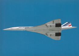 AEROSPATIALE  -  BAC CONCORDE  F-BVFB - ZURICH - SWITZERLAND - 1946-....: Modern Tijdperk