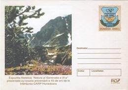 PLANTS, TREES, FORESTRY, COVER STATIONERY, ENTIER POSTAL, 2004, ROMANIA - Árboles