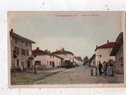 CONDEISSIAT (CONDEYSSIAT) PLACE DU MARCHE (CARTE COLORISEE) - Other Municipalities