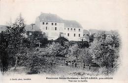 Belgique - Saint-Léger - Près D' Arlon - Pensionnat Sainte-Chrétienne - Vue Sur Le Jardin - Saint-Leger