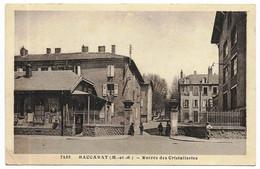 BACCARAT (54) Entrée Des Cristalleries CLB 7459 (pli Bas Gauche) - Baccarat