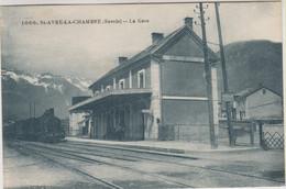 D73 - ST AVRE LA CHAMBRE - LA GARE - Train Devant La Gare - Other Municipalities