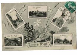 Tassin  Vues Multiples Carte Souvenir - Otros Municipios