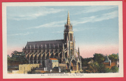 CPA-76- BONSECOURS - La Basilique Notre-Dame De Bonsecours - La Cigogne 603 * 2 Scans - Bonsecours