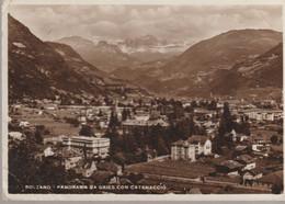 C.P.- PHOTO - BOLZANO - PANORAMA DA GRIES CON CATENACCIO - A. CAMPASSI - - Bolzano (Bozen)