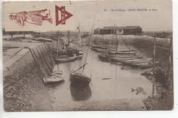 CP ( Saint Trojan - Le Port à Marée Basse ) - Ile D'Oléron