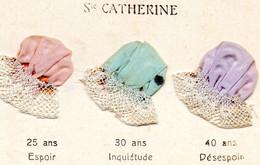 H1103 - Carte Découpie - Ste Catherine - Sint Catharina